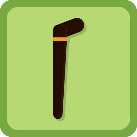 walking stick: leprechaun walking stick