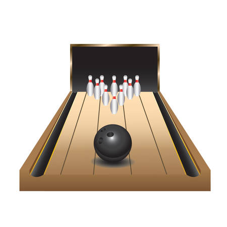 bowling alley: bowling alley