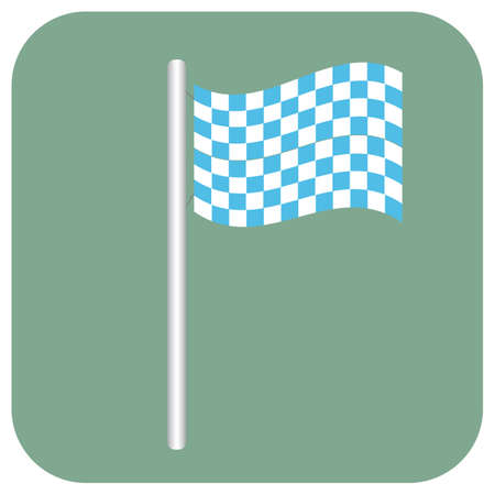 bavarian: bavarian flag Illustration