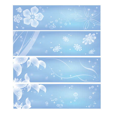 template: floral template Illustration