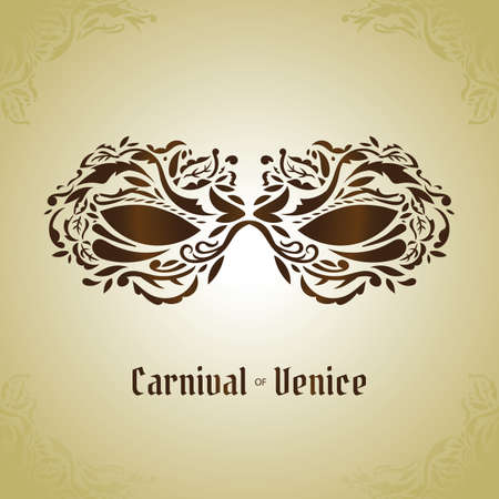 venice: carnival of venice wallpaper Illustration