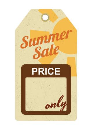 sale tag: summer sale tag