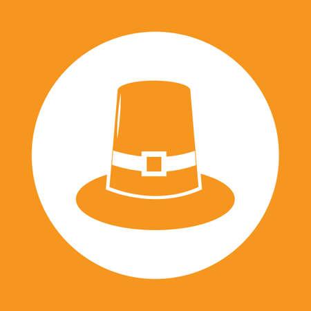 headwear: pilgrim hat