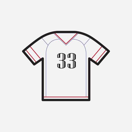 jersey: jersey t-shirt Illustration