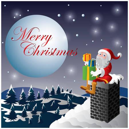 christmas greeting: christmas greeting Illustration