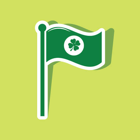 st  patrick's day: st patricks day flag