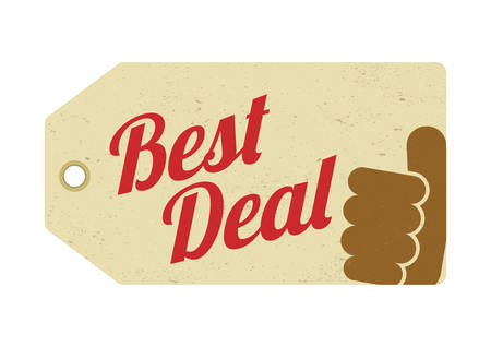 the best: best deal tag