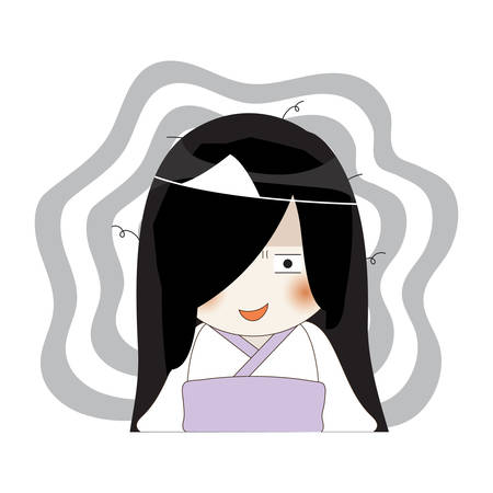 shy: shy ghost Illustration