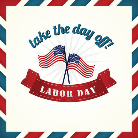 the day off: labor day poster