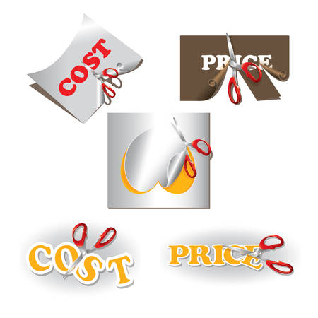 price cutting: price and cost cut set
