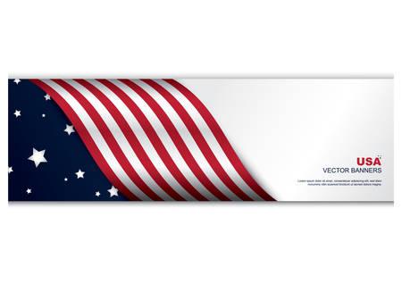 flag banner: american flag banner
