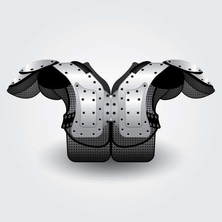 pad: american football shoulder pad