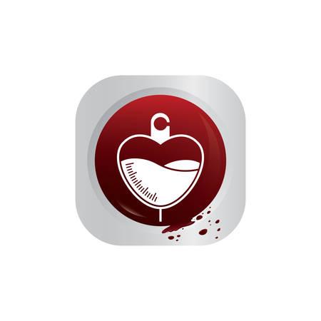 saline: saline in heart shape