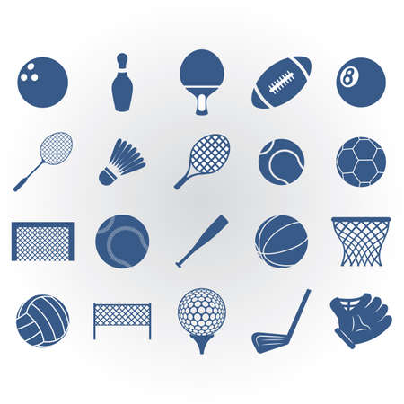 sports equipment: collection of sports equipment