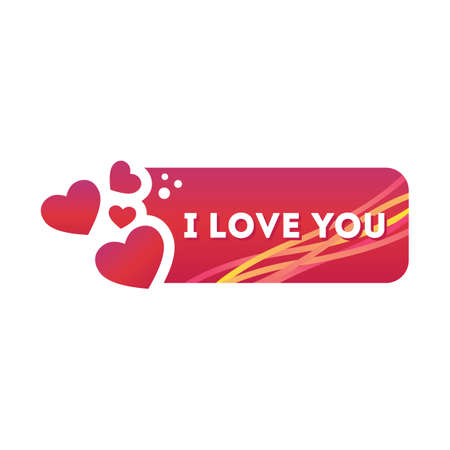 i love u: i love u sticker