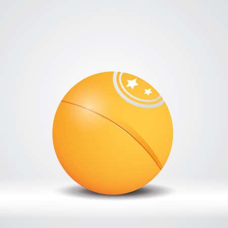 ping pong: pelota de ping pong
