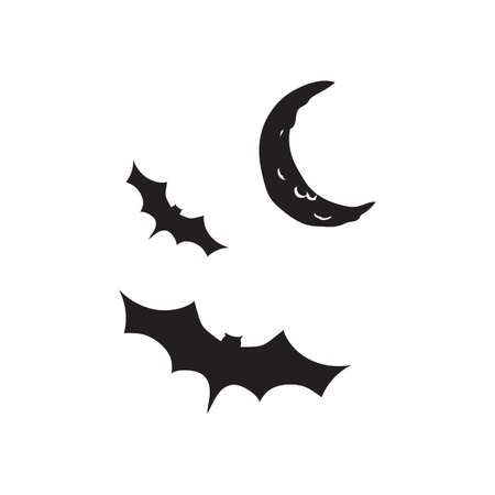 haunting: bats flying at night