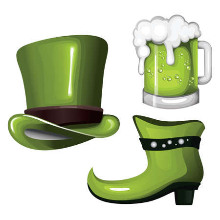 st  patrick's day: st patricks day collection Illustration