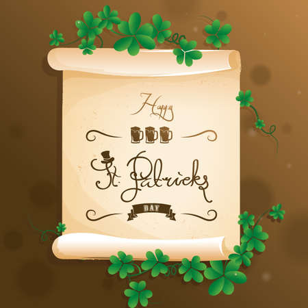 st  patrick's day: happy st patricks day card