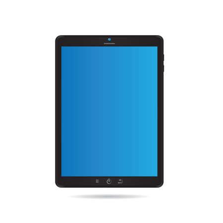 computer tablet: computer tablet Illustration