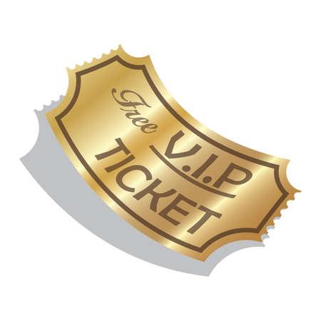 token: v.i.p ticket