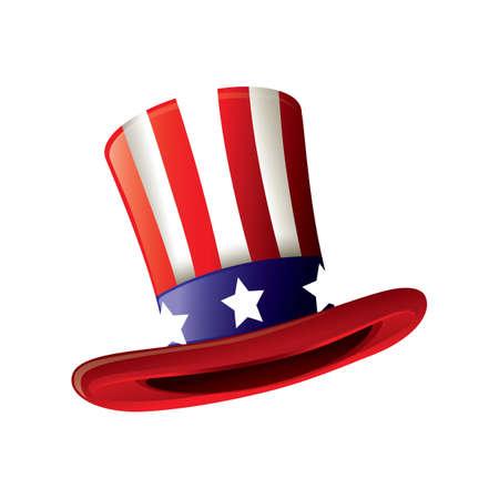 Oncle sam hat Banque d'images - 53726180