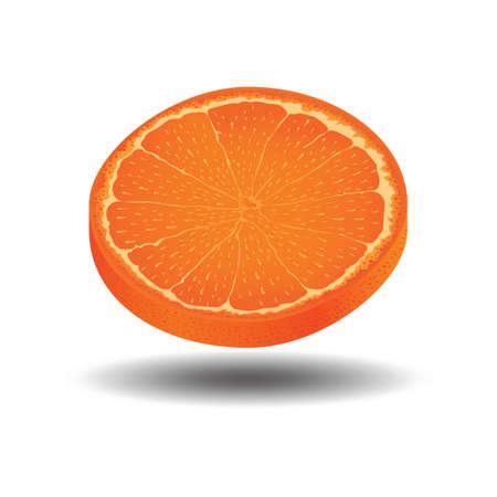 slice: orange slice