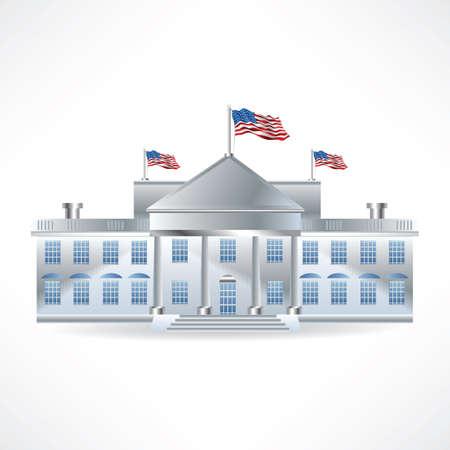 america white house 版權商用圖片 - 81485658