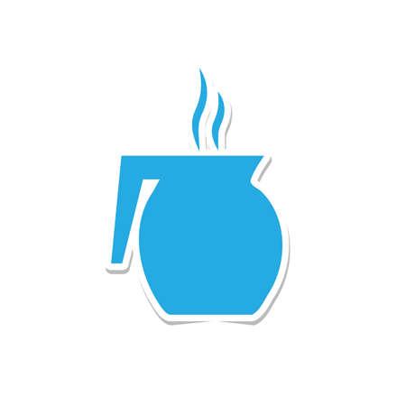 jug: coffee jug sticker