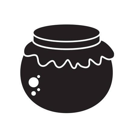 sweetener: honey jar Illustration