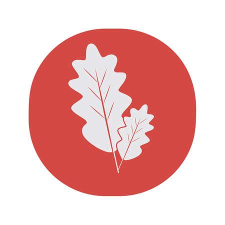 fallen leaves: fallen leaves Illustration