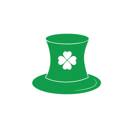 st  patrick's day: st. patricks day hat Illustration
