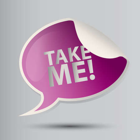 me: take me sign
