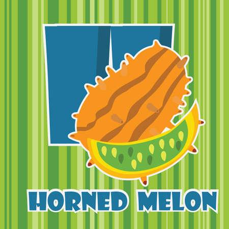 horned: h for horned melon