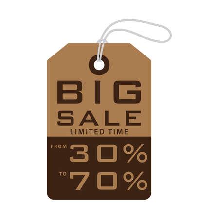 sale tag: big sale tag