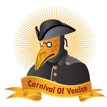 carnival costume: carnival of venice