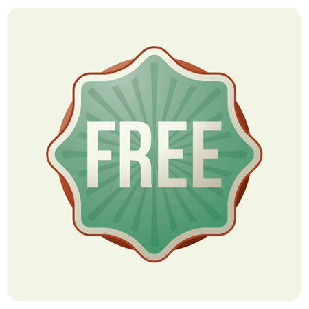 free offer: free offer badge