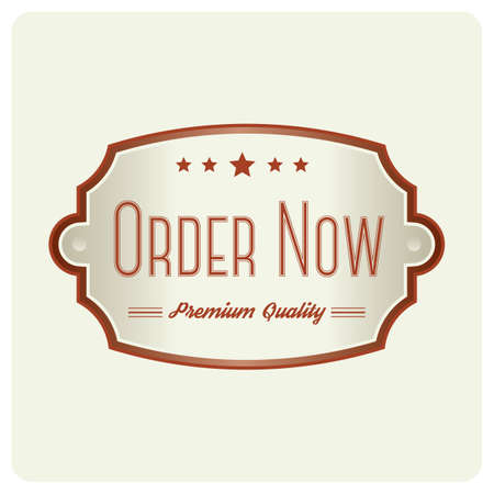 order now: order now badge