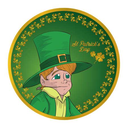 patrick's: st patricks day emblem