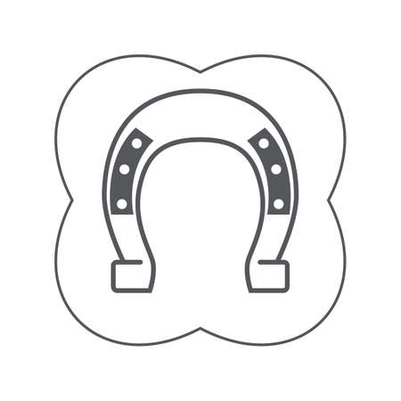 iron: iron horseshoe
