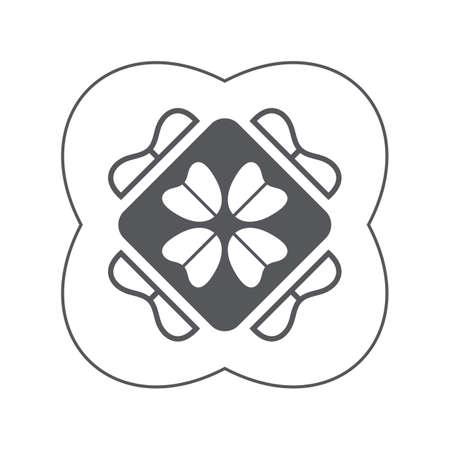 leaf: clover leaf design