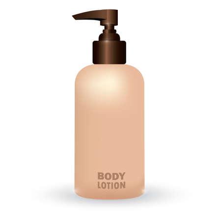 body lotion Ilustracja