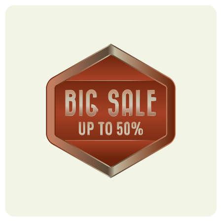 big sale: big sale badge