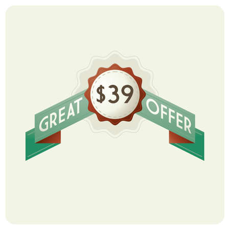 great: great offer badge