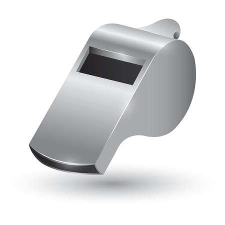 shrill: sports whistle