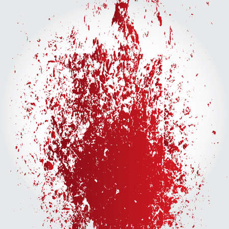 dribble: abstract blood Illustration