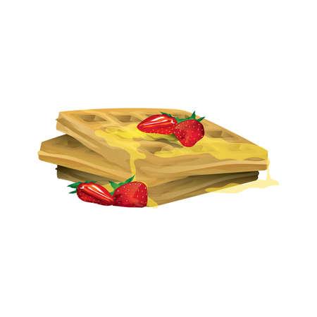 belgian waffle: belgian waffle
