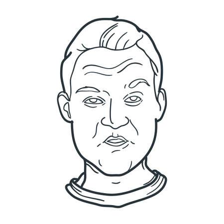 annoying: annoyed man expression