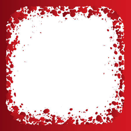 dribbling: abstract blood Illustration
