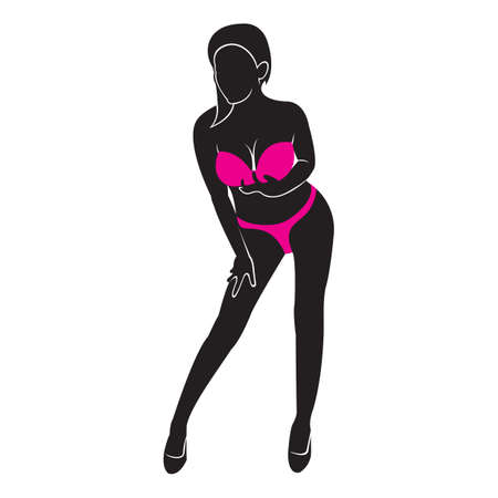 Frau im Bikini Standard-Bild - 53765232